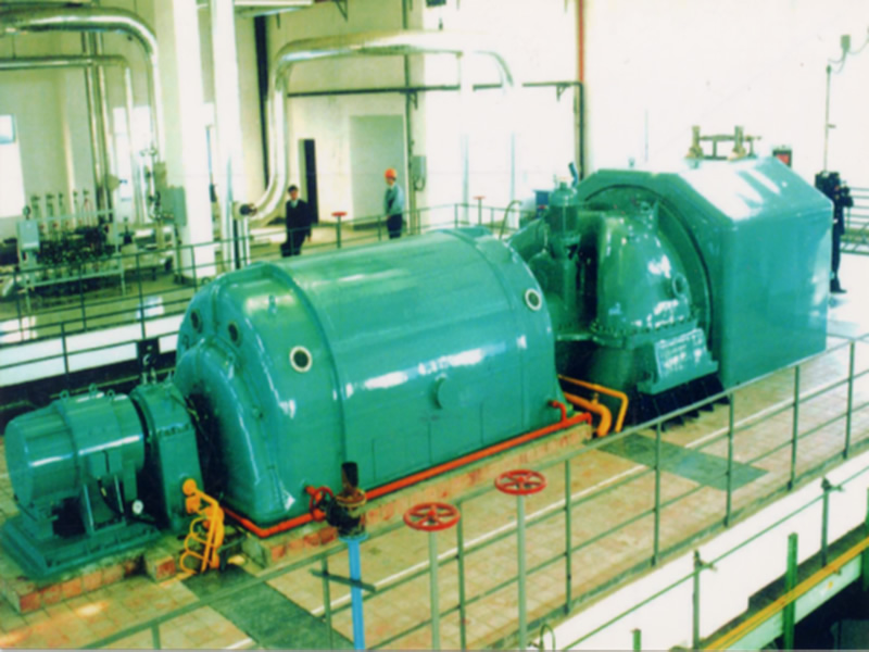 Condensing steam turbine