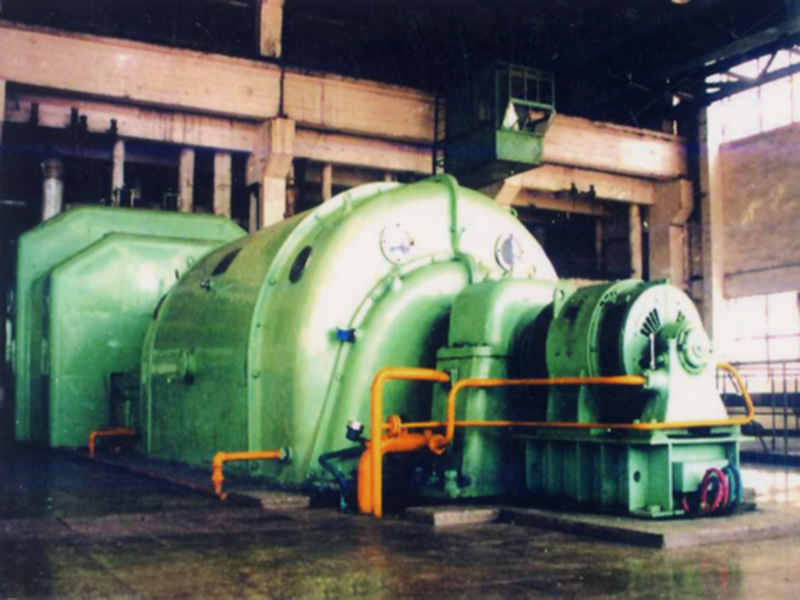 Back pressure turbine (6mw)