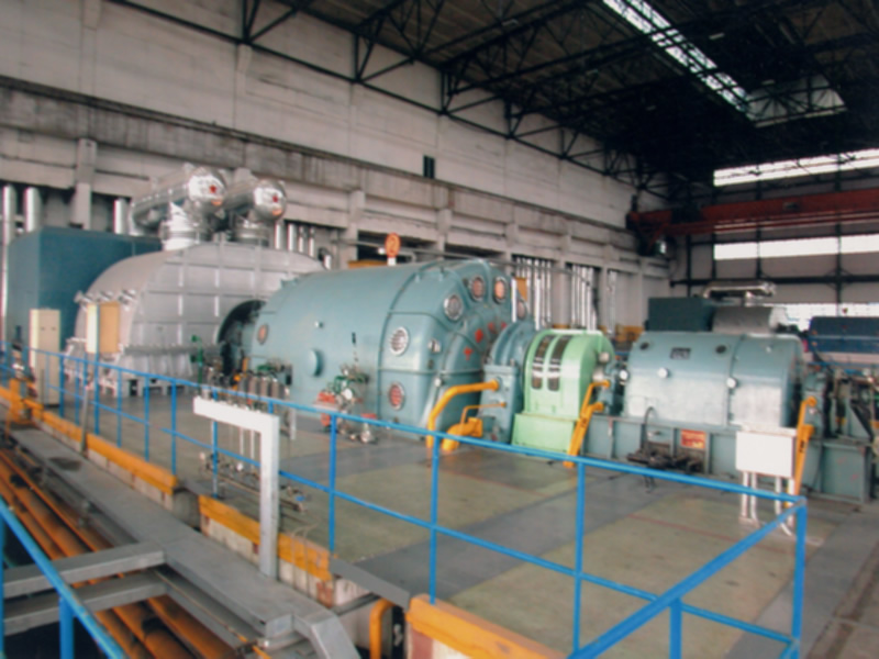 Condensing steam turbine (50~135mw)